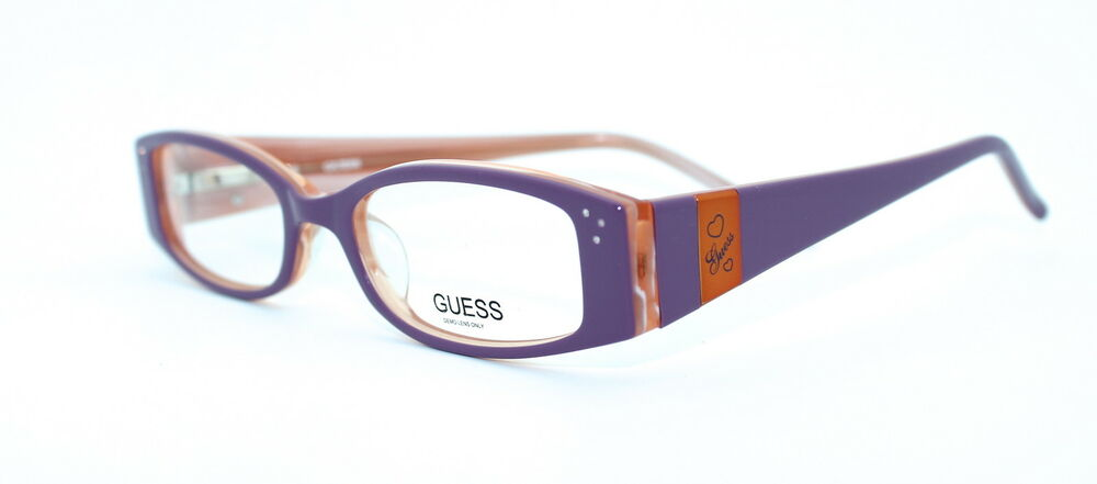 Authentic Designer Eyeglass Frames : GUESS GU9011 45/16 New PURPLE Authentic GIRLS CHILDREN ...