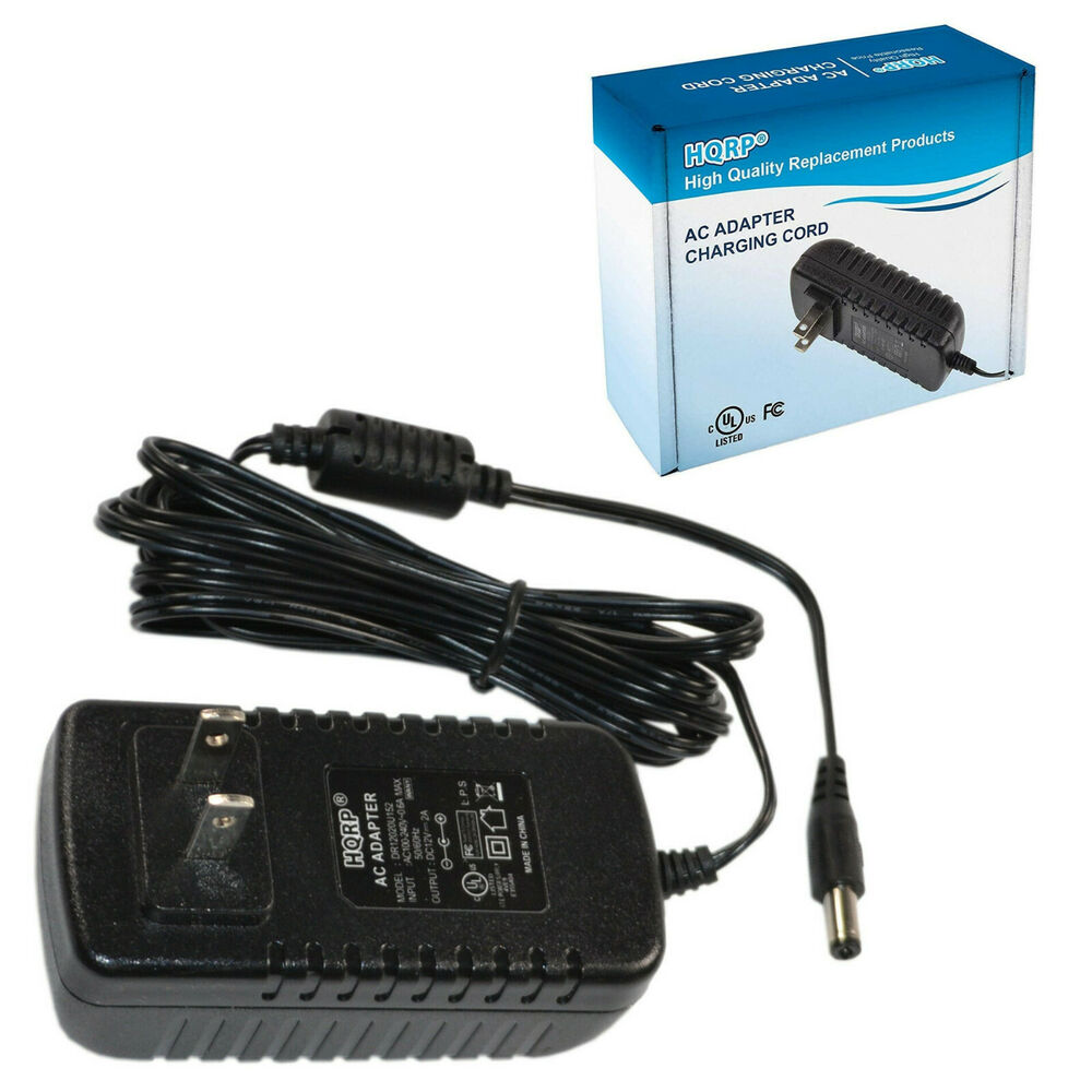 hqrp 12v ac power adapter for yamaha ez 150 ez 200 psr. Black Bedroom Furniture Sets. Home Design Ideas