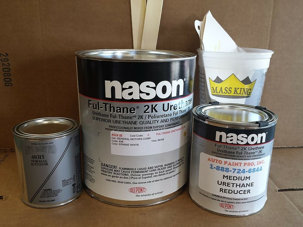 Nason Ful Thane 2k Urethane Ermine White Auto Body Shop