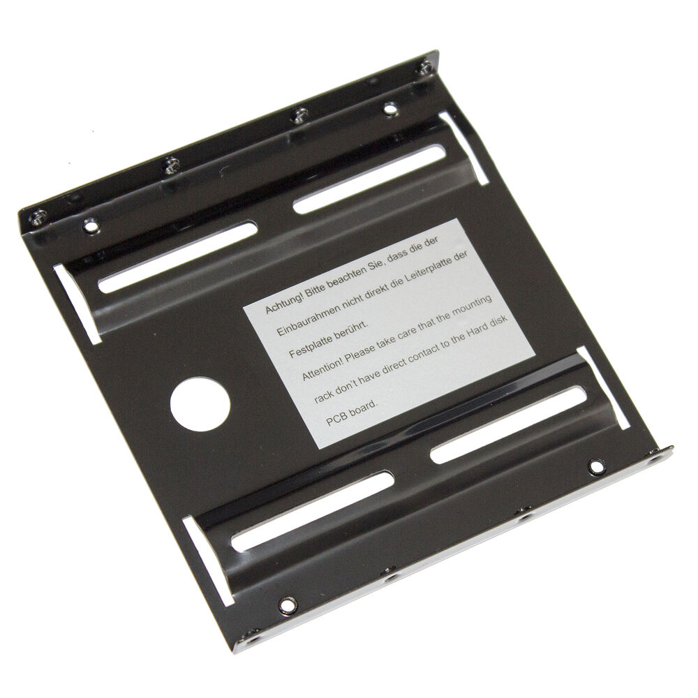 2 5 Quot Hard Drive Mounting Frame Bracket Install 2 5 Inch