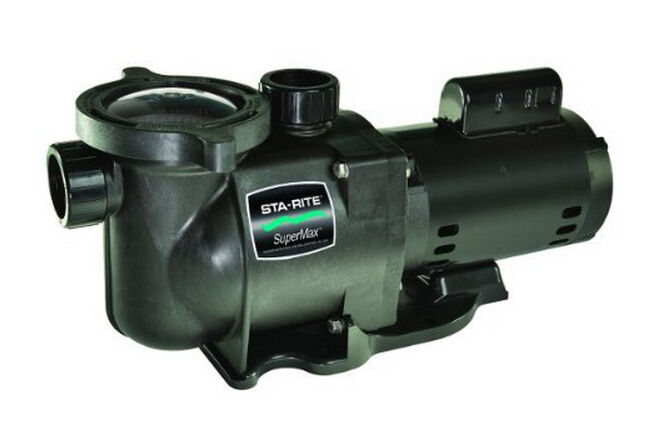 New pentair phk2ra6f 103l sta rite supermax 1 5 hp for Pentair 1 hp pool pump motor