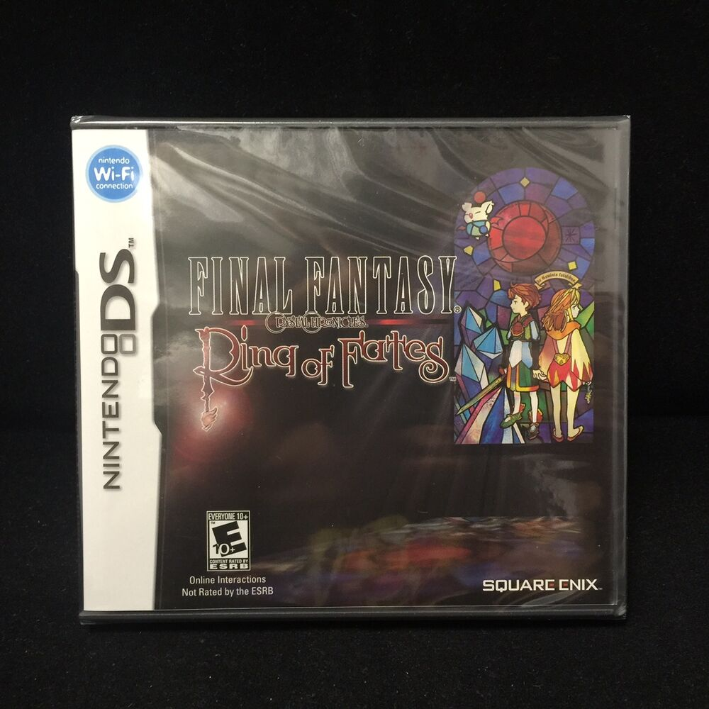 Final Fantasy Ring Of Fates Nintendo Ds