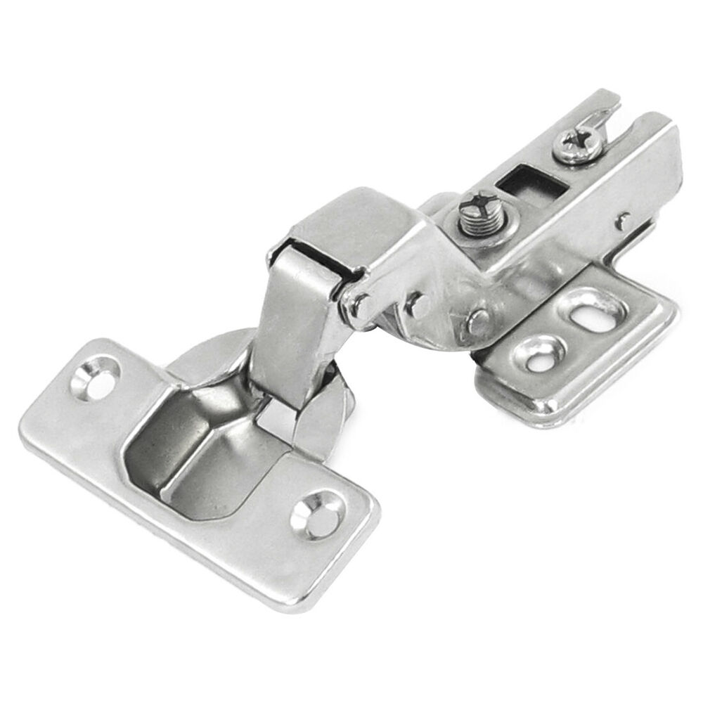 Stainless Steel Kitchen Cabinet Hinges: Silver Tone Stainless Steel Furniture Insert Concealed