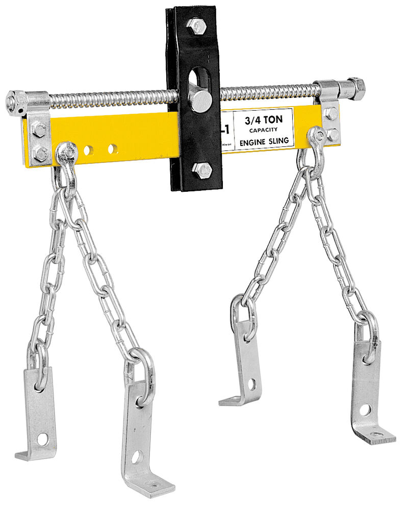 Performance tool w41030 3 4 ton engine hoist leveler ebay for 1 4 ton chain motor