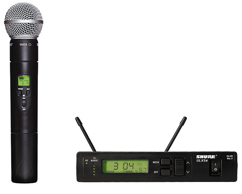 shure ulxs24 58 g3 handheld wireless microphone system with sm58 capsule new ebay. Black Bedroom Furniture Sets. Home Design Ideas