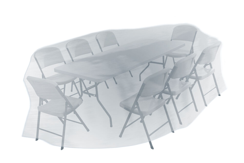 Patio garden outdoor yard square table and chairs for Patio furniture covers for square tables