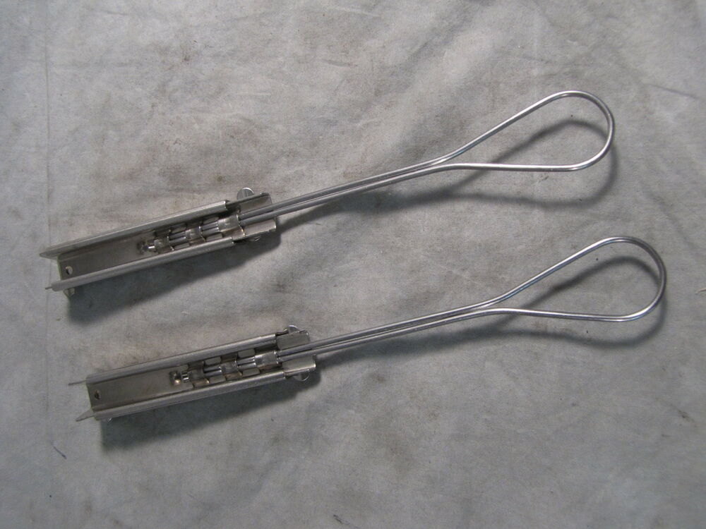 Pr abi allied bolt inc stainless steel drop wire clamps