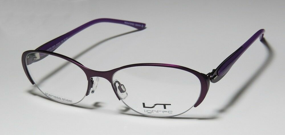 Women s Glasses Frame Size : NEW LIGHTEC 7037L VERY STYLISH WOMENS/LADIES SIZE GLASSES ...