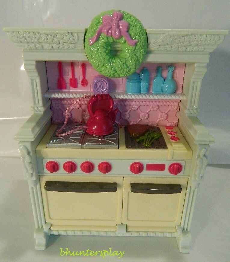 Fisher Price Loving Family Kitchen: Fisher Price Loving Family Dollhouse Home For The Holidays
