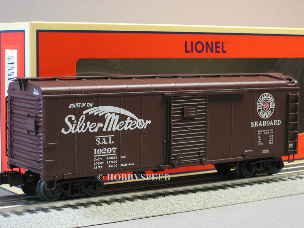 Lionel Seaboard Round Roof Boxcar 19297 O Gauge Train 6