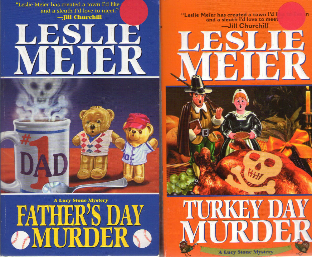 LESLIE MEIER lot of 21 Cozy Mysteries LUCY STONE Series Near Complete