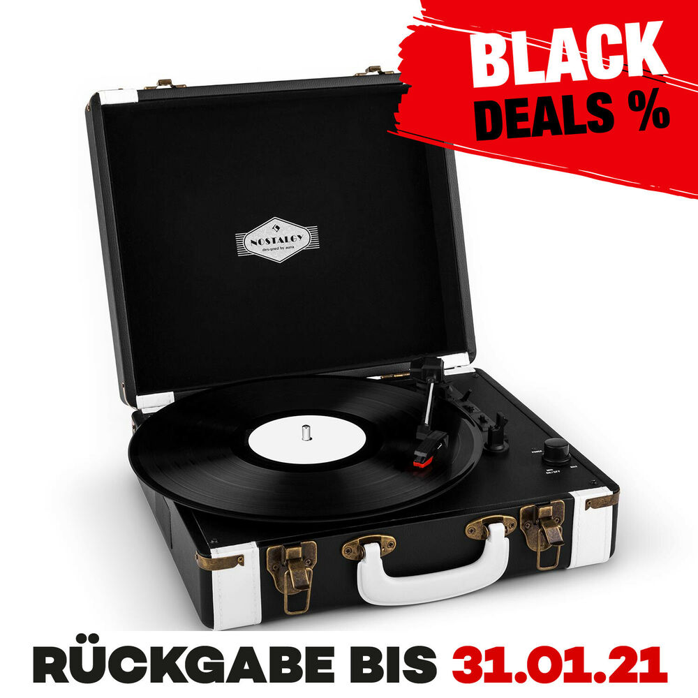platten spieler koffer usb lp player stereo lautsprecher musik anlage turntable ebay. Black Bedroom Furniture Sets. Home Design Ideas