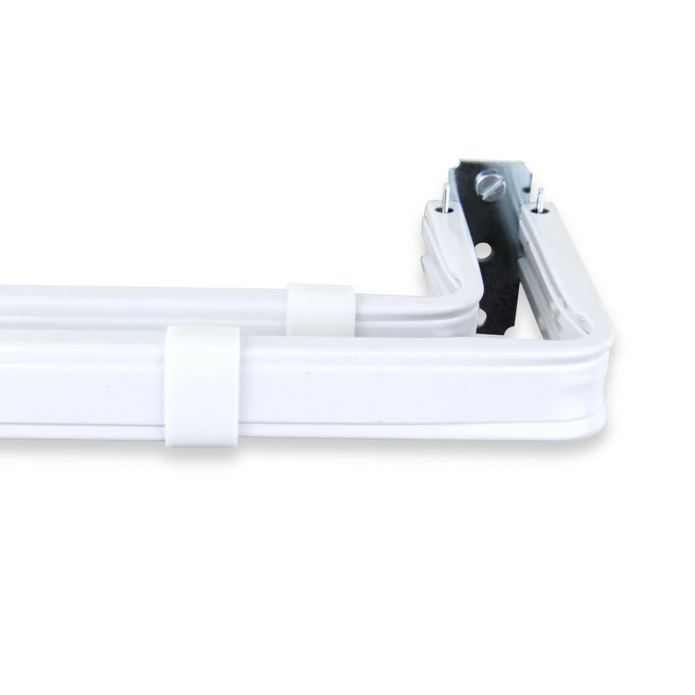 double lockseam curtain rod choose from 3 sizes 28 120 inch ebay. Black Bedroom Furniture Sets. Home Design Ideas