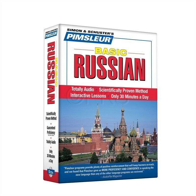 Russian Conversational CD Language Course - Pimsleur