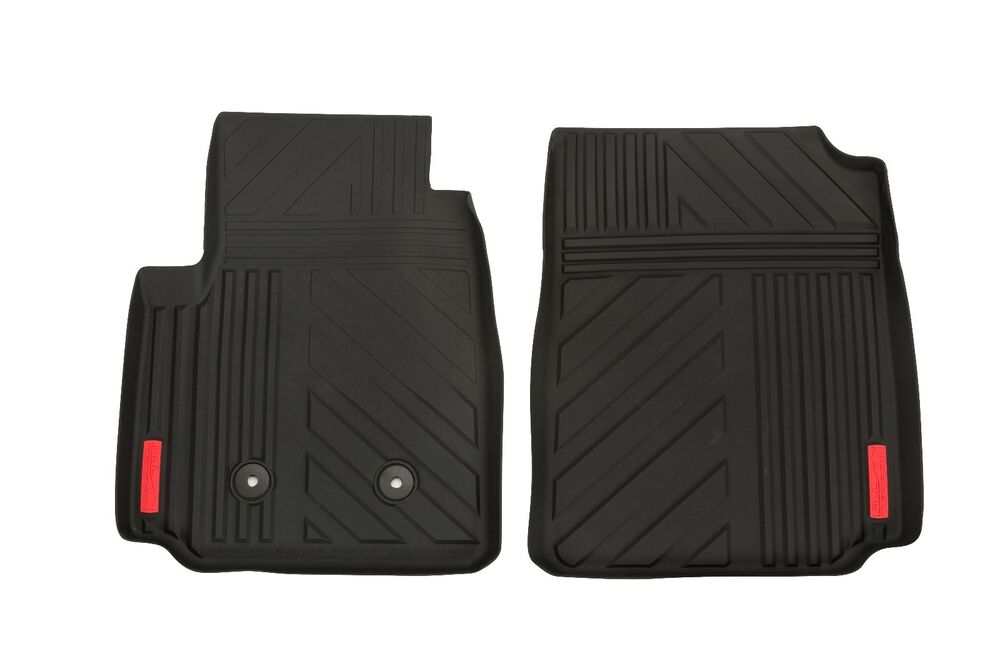Gm 22963074 Black Front Terrain All Weather Floor Mats