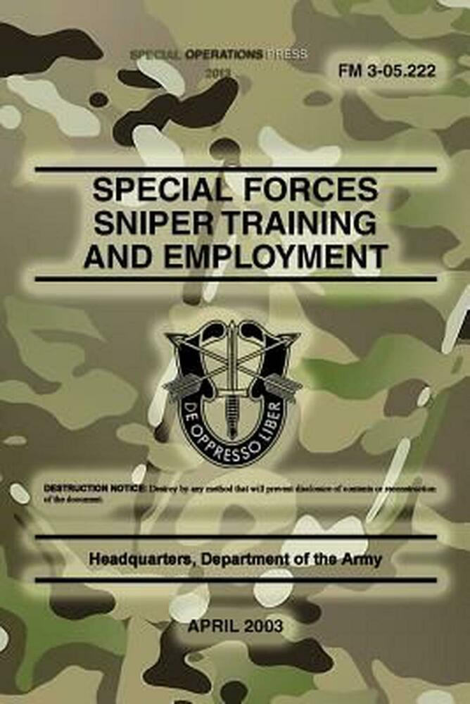 how to become a special forces sniper