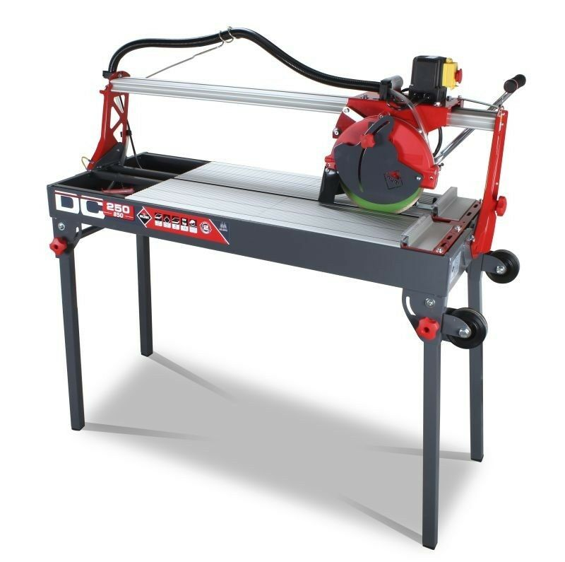 Rubi Dc 250 850 Electric Tile Cutter Wet Saw 110v Zero