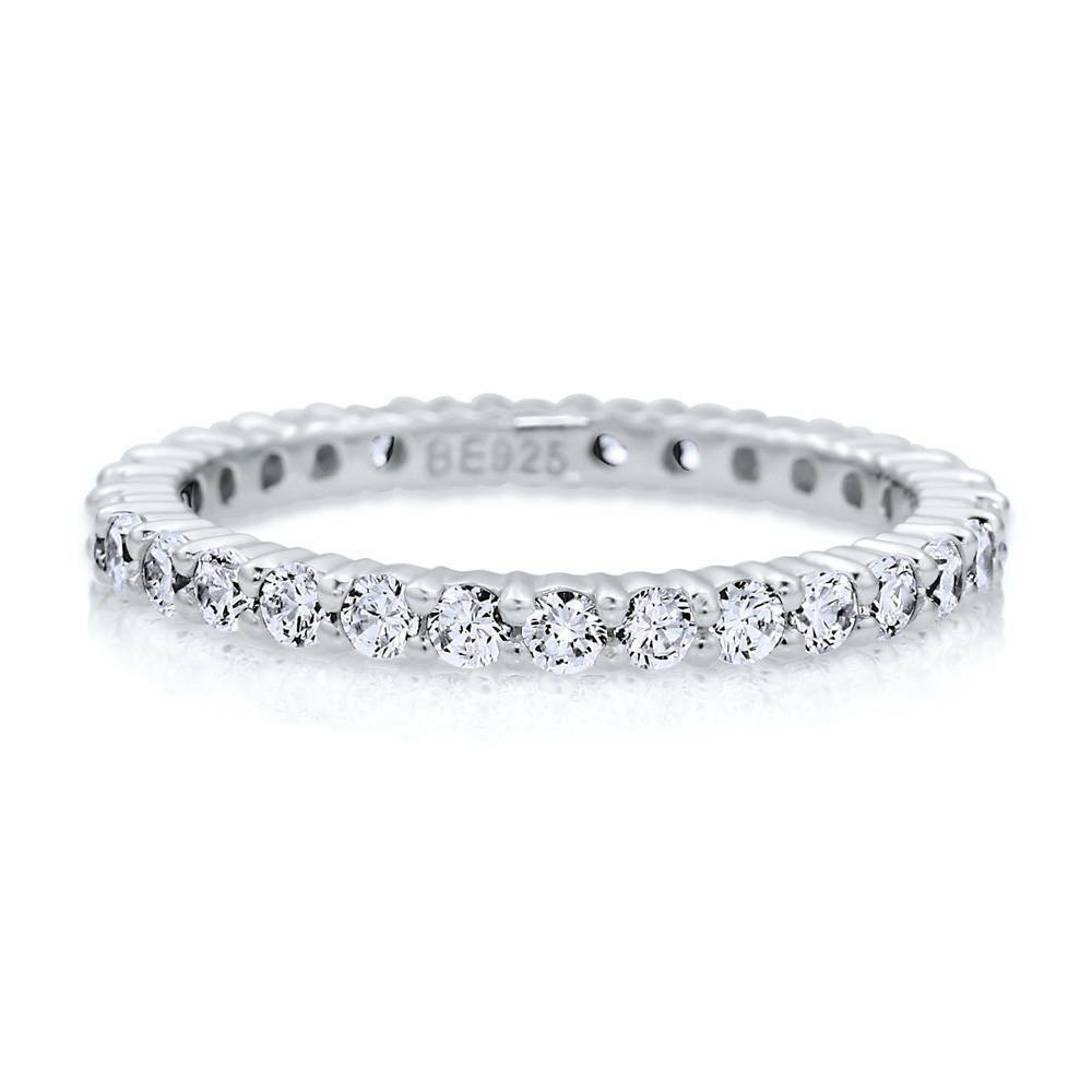 berricle sterling silver cz anniversary eternity