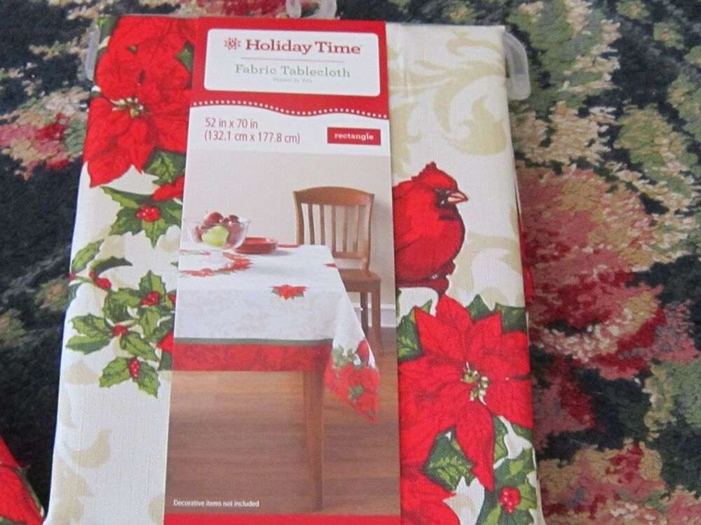 Nwt Better Homes Gardens Christmas Tablecloth Runner