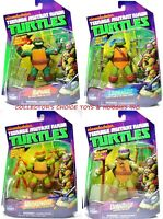 TMNT TEENAGE MUTANT NINJA TURTLES BASIC ACTION FIGURES SET OF 4 FIGURES