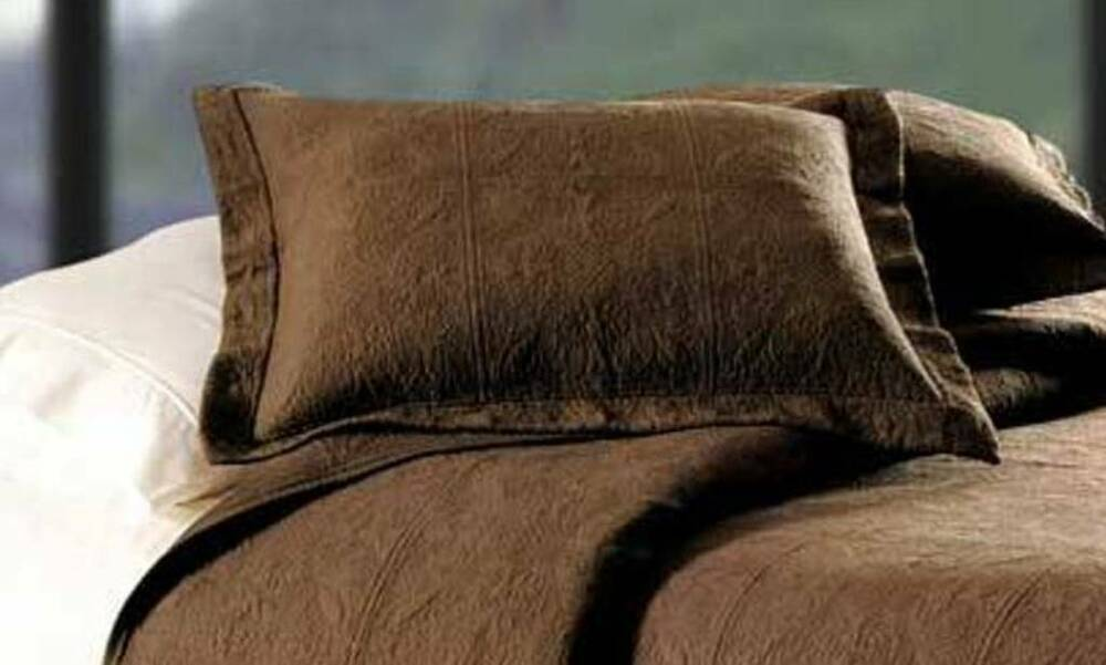 Blue And Brown Pillow