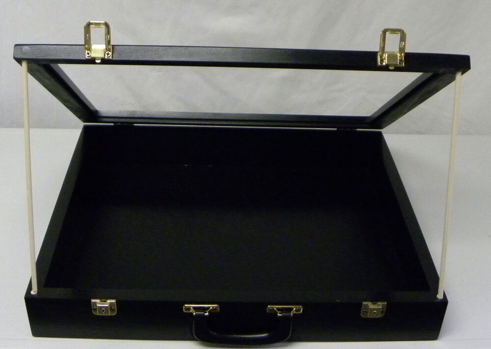Trade show display case black p304 show display case ebay for Jewelry display trade show