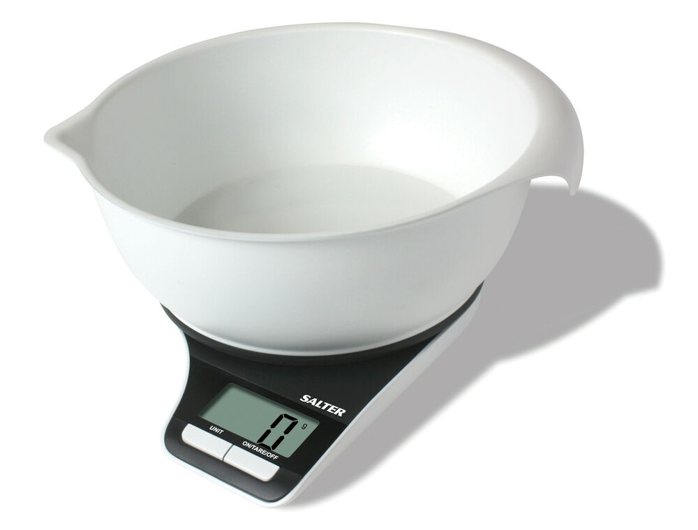 Salter 5kg electronic digital kitchen scale with measuring for How much is a kitchen scale