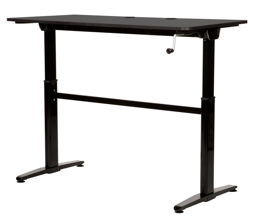 cool living adjustable 29 45 inch height stand up student home office desk table ebay. Black Bedroom Furniture Sets. Home Design Ideas