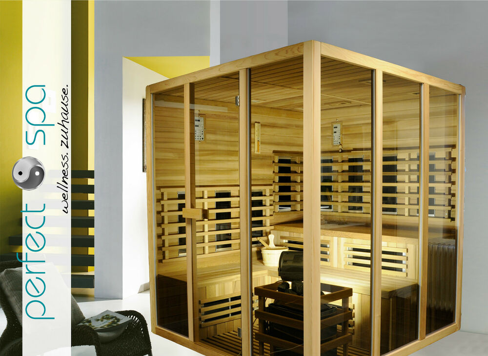 sauna ecksauna infrarotkabine sidney wellness 9kw. Black Bedroom Furniture Sets. Home Design Ideas