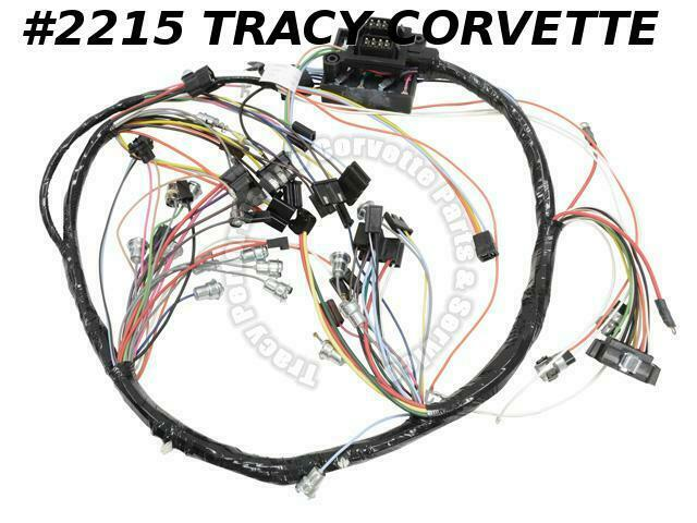 1966 corvette new repro dash ip wiring harness usa made lectric 1966 corvette new repro dash ip wiring harness usa made lectric