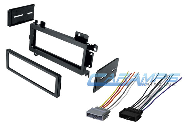 car stereo radio kit dash installation mounting trim bezel ... 1981 jeep truck dash wiring 1964 chevy truck dash wiring #15
