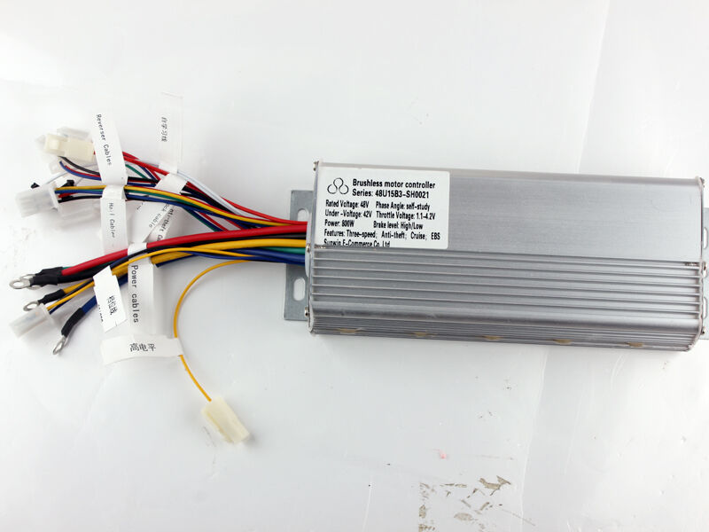 48v 800w electric bicycle brushless speed motor controller for 48v dc motor speed controller circuit