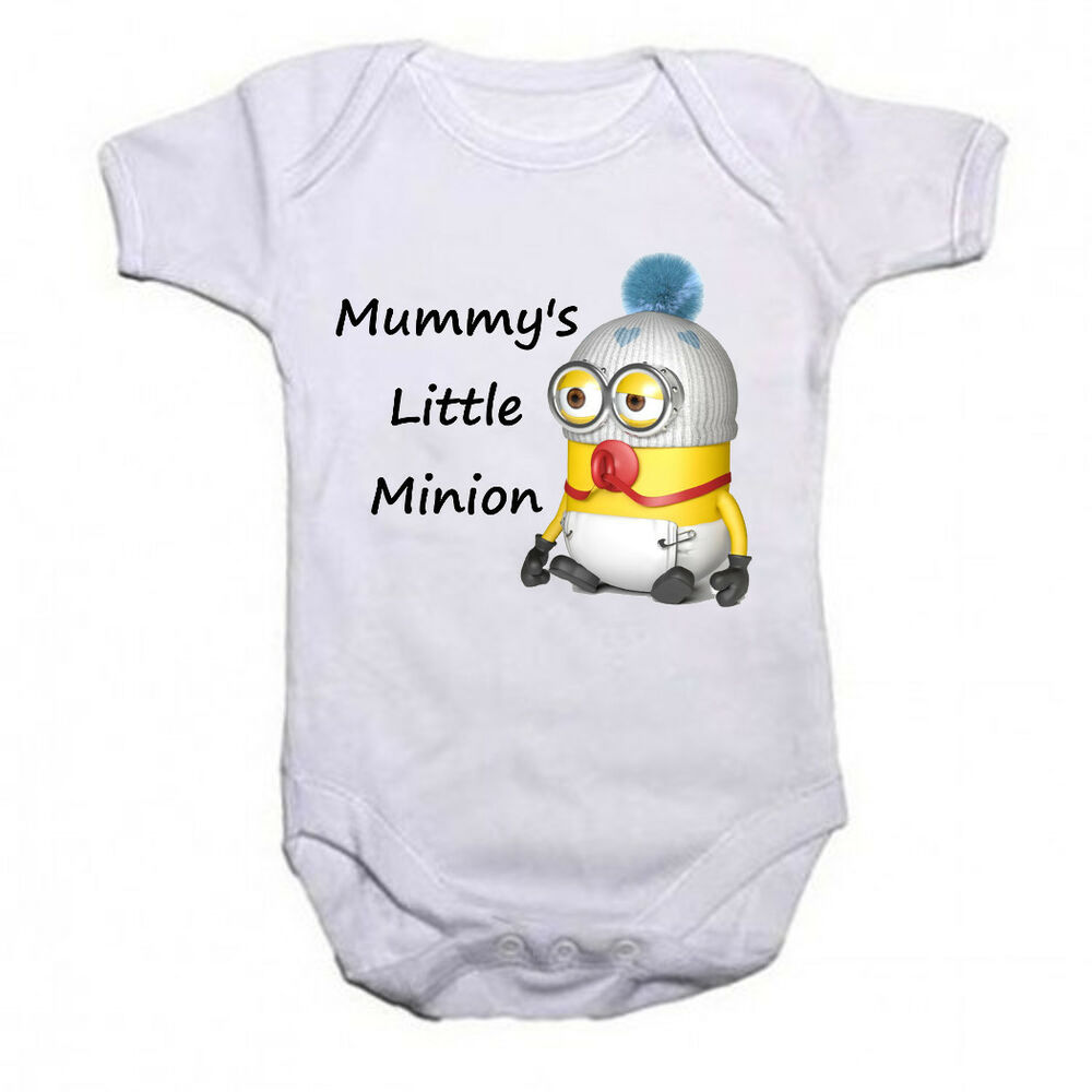 Funny Baby Gifts Uk : Mummys little minion funny baby toddler vest newborn gift