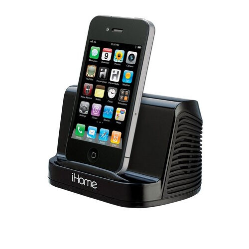 iphone 6 speaker ihome ihm16 black portable stereo speaker for apple iphone 11419