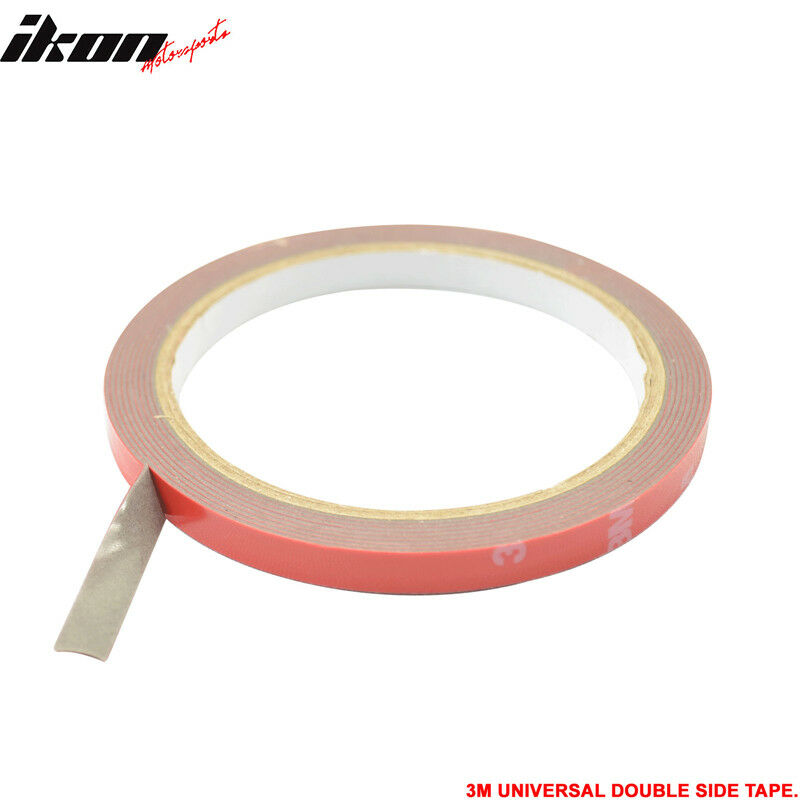 3m Double Sided Tape Body Kit Side Trim Moldings Abs Pvc