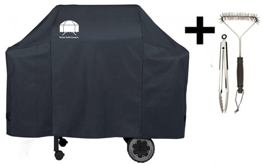 Texas grill cover 7573 premium for weber spirit 200 300 for Housse barbecue weber spirit