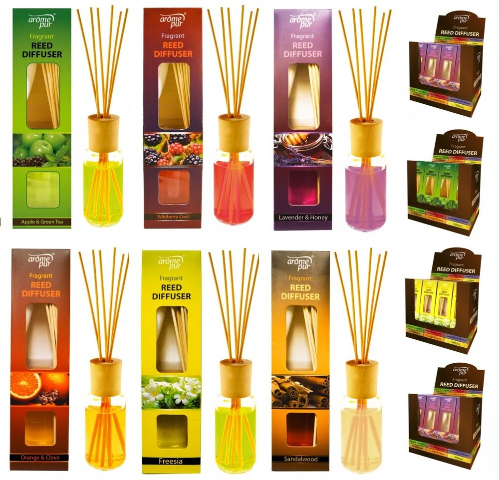 50ml Reed Diffuser Essential Oils Air Freshener Room Scent