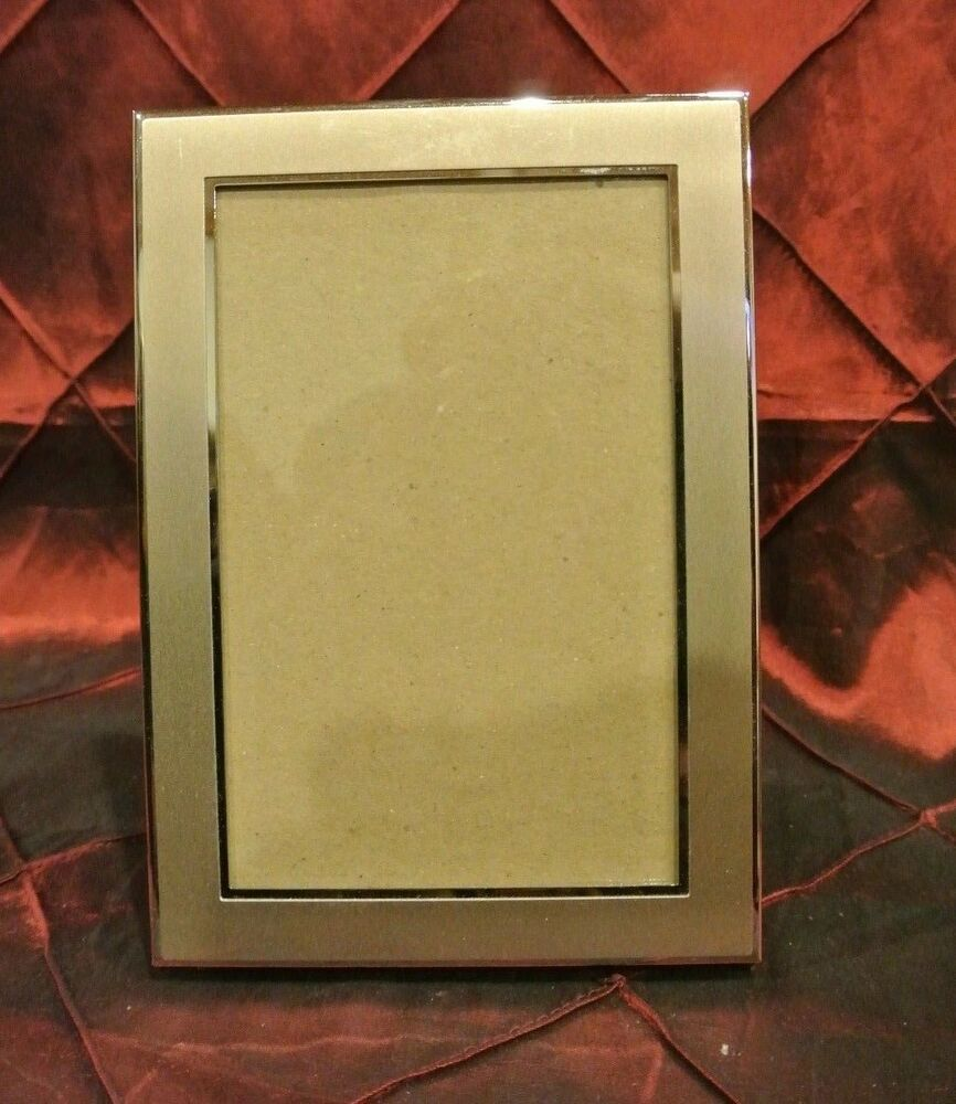 Metal Champagne Gold Color Picture Frame Great Decor Piece