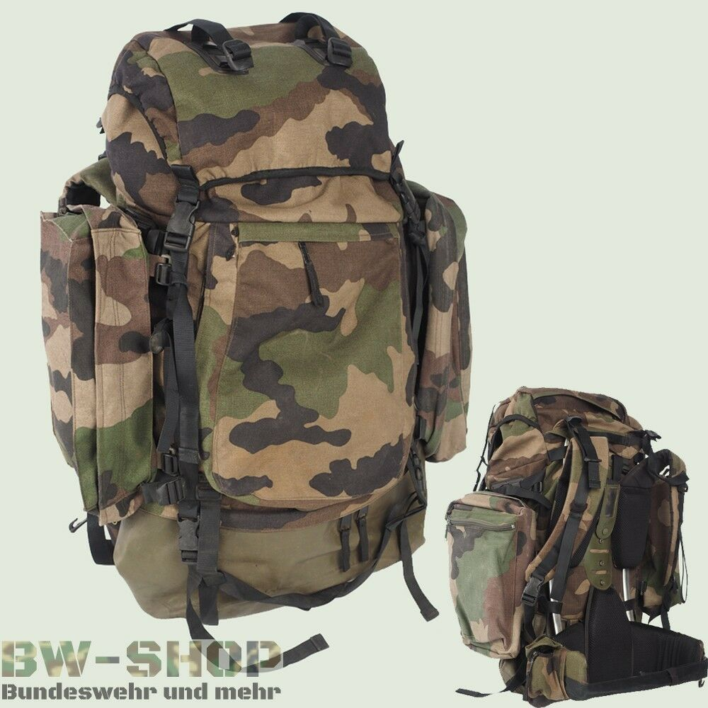 original franz sischer rucksack 90l alpha cce tarn army backpack tasche bw ebay. Black Bedroom Furniture Sets. Home Design Ideas