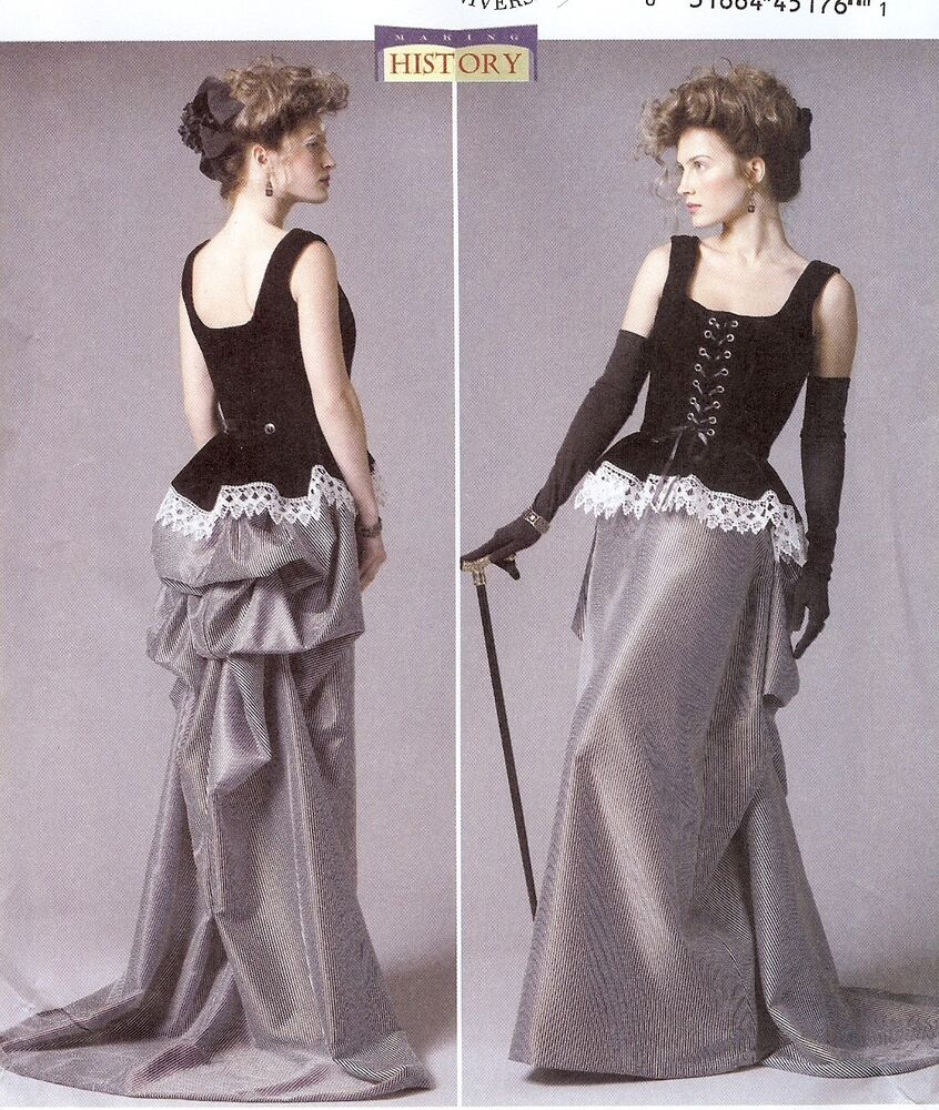 pattern for steampunk turn of the century butterick 5969