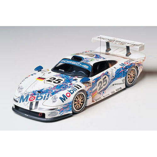tamiya 24186 porsche 911 gt1 1 24 car model kit ebay. Black Bedroom Furniture Sets. Home Design Ideas