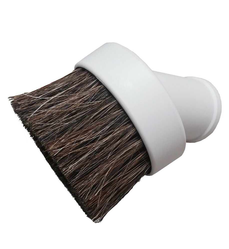 Vacuflo Central Vacuum Round Dusting Brush Attachment