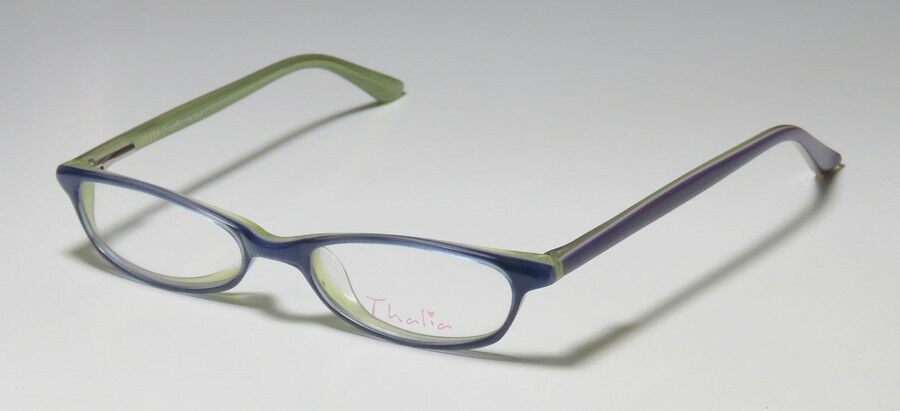 Glasses Frame Measurements : NEW THALIA DARLA TWO-TONE CUTE CASUAL EYEGLASS FRAME ...