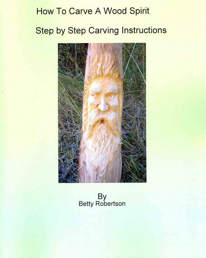 How to carve a wood spirit complete instruction on