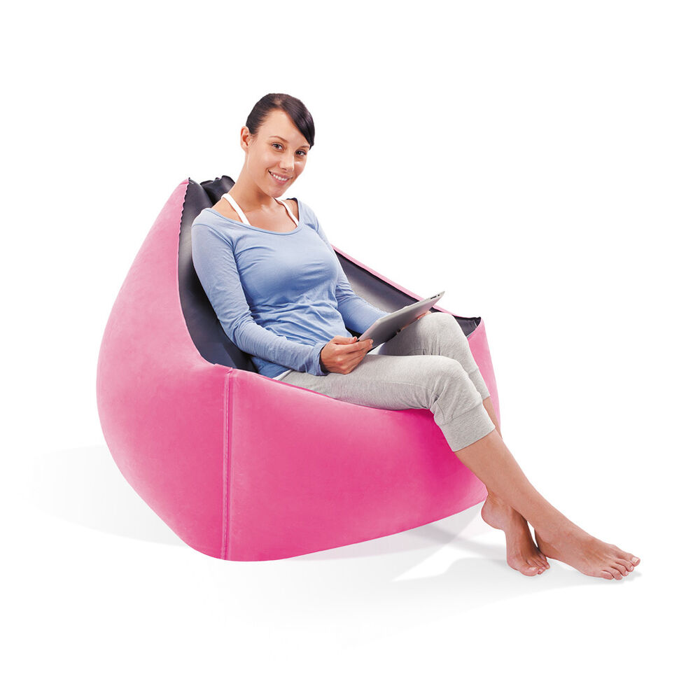 bestway moda inflatable premium lounge air chair seat. Black Bedroom Furniture Sets. Home Design Ideas