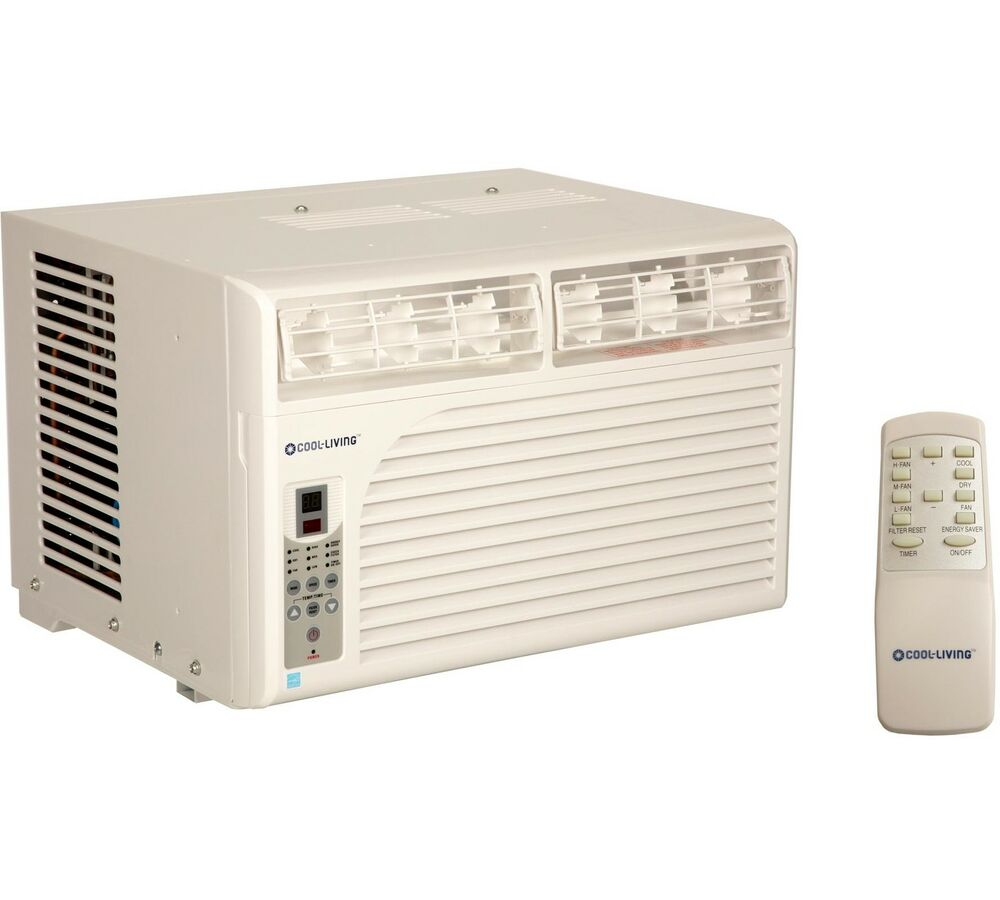 Cool living 15000 btu energy star efficient window mount for 15 width window air conditioner