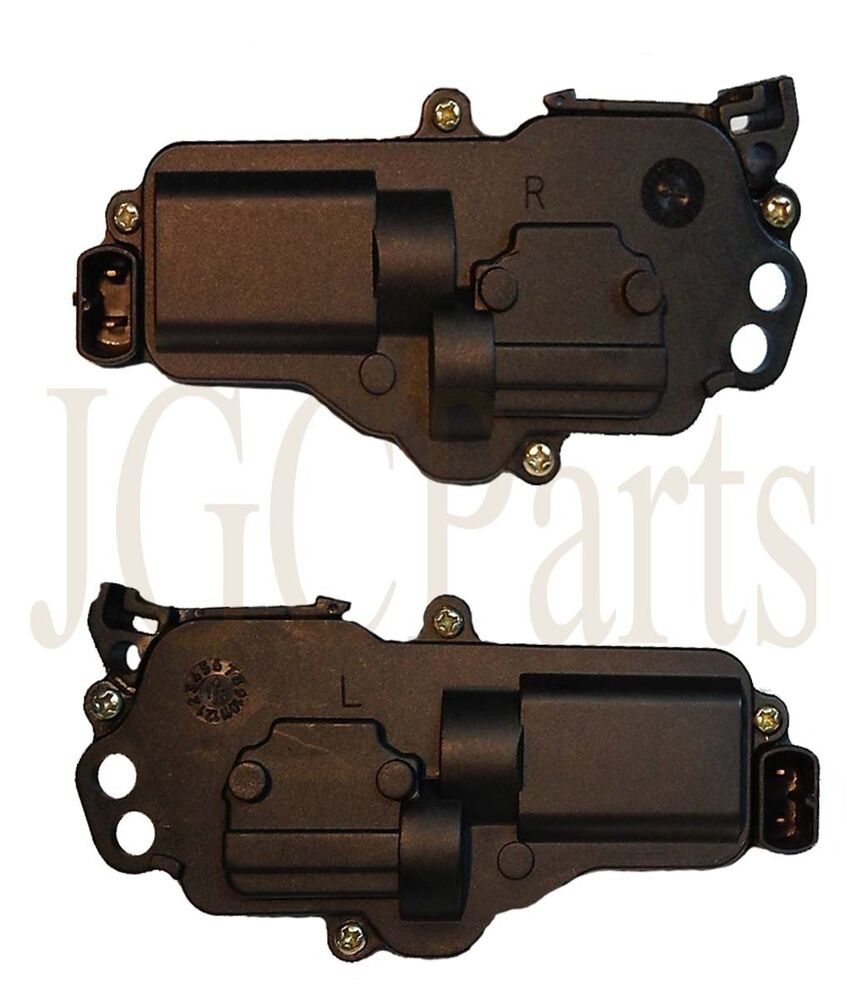 Ford door lock actuator motor pair left right new ebay for Door lock actuator