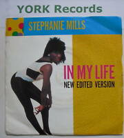 """STEPHANIE MILLS - In My Life - Excellent Con 7"""" Single"""