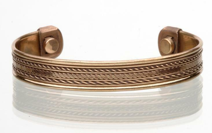 PURE COPPER MAGNETIC BRACELET mens womens STYLE#E jewelry ...