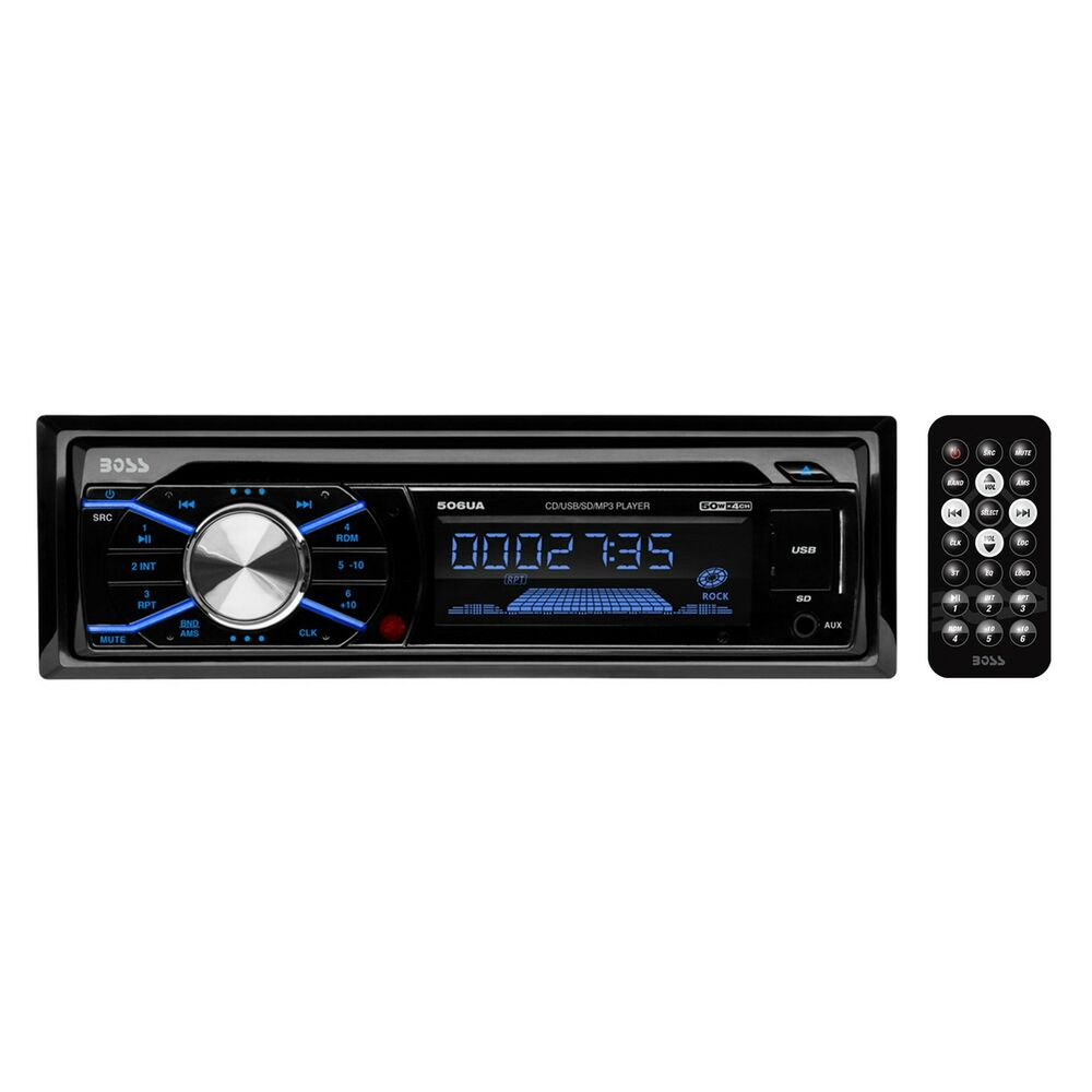New! Boss 506UA In Dash Car Stereo CD MP3/USB/SD Player AM